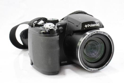 Polaroid IS2132-BLACK 16MP 21X Zoom Digital Still Camera With 2-Inch LCD