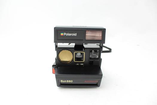 Polaroid Sun660 Autofocus Instant Camera