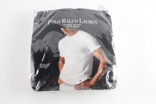 Polo Ralph Lauren Crew Neck T-Shirts 3-pack, Size XL