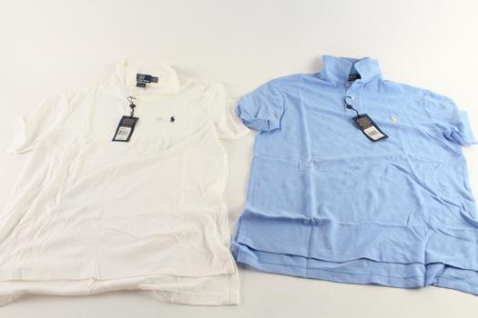Polo Ralph Lauren Polo Shirts, M, 2 Pieces