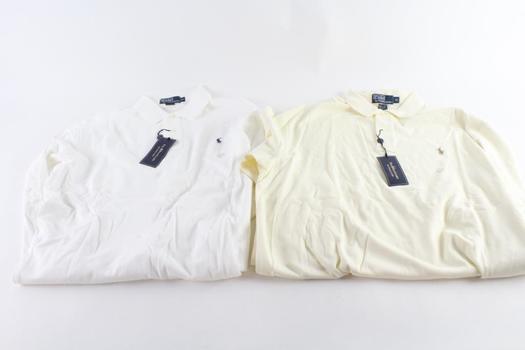 Polo Ralph Lauren Shirts, XL, 2 Pieces