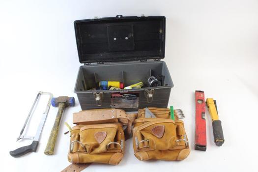 Popular Mechanics Tool Box With Tools