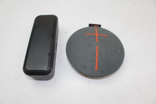 Portable Bluetooth Speakers: Ultimate Ears, Blackweb: 2 Items