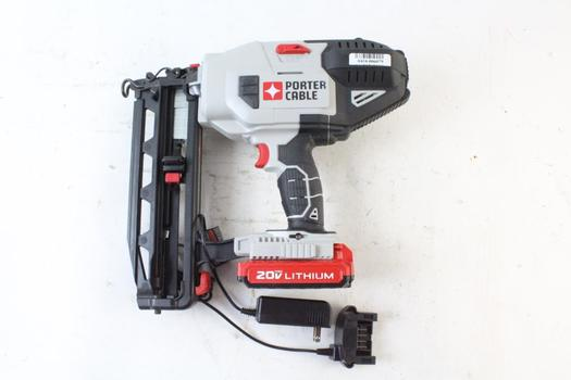 Porter Cable Cordless Finish Nailer