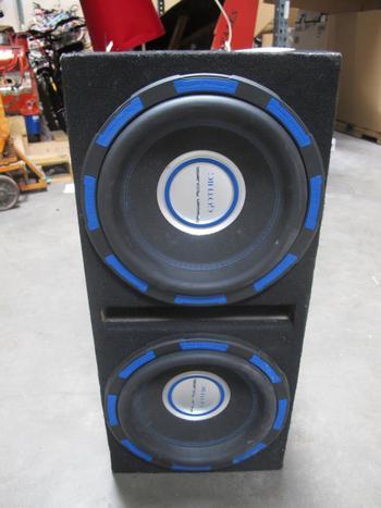 Power Acoustic Gothic Subwoofer Box