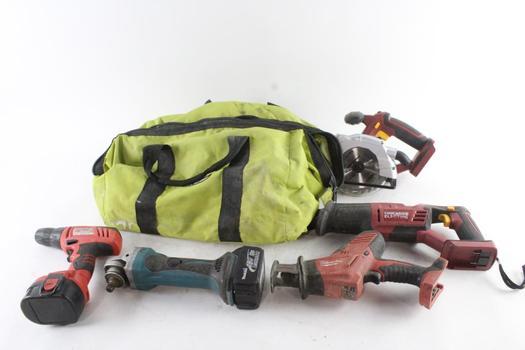 Power Tool Bulk Lot, 5 Pieces
