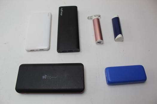 Powerbanks: MyCharge, Redhill, EC Technology And More: 6 Items