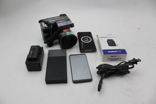 Powerbanks, Sony Digital Mavica Camera, Metro Smart Ride Device: 5 Items