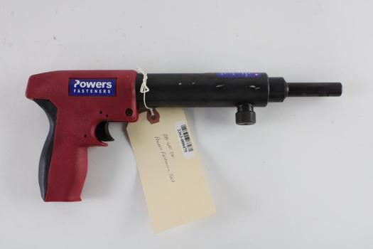 Powers Fasteners Powder Actuated Fastening Tool