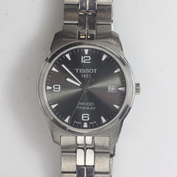 PR 100 Titanium Anthracite Tissot Watch