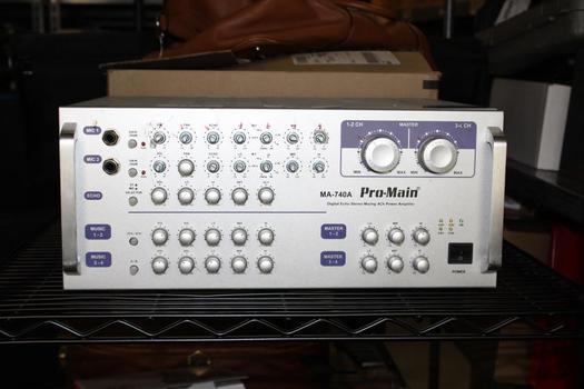 Pro Main MA-740A Amplifier