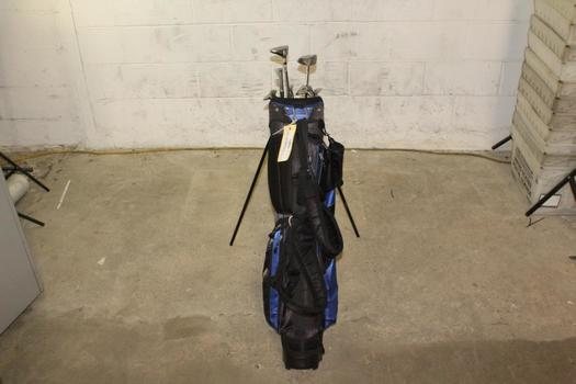 Pro Series Bag With Clubs, 8 Pieces