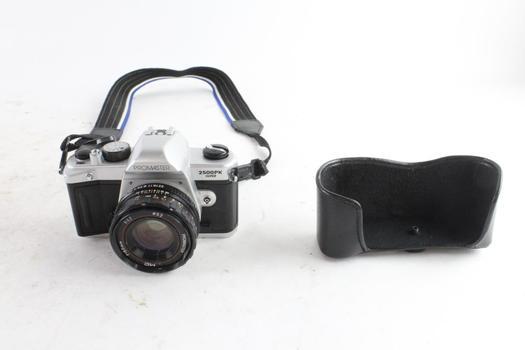 Promaster 2500PK Super 35mm SLR Camera