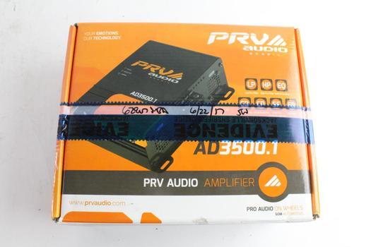 PRV Audio Amplifier