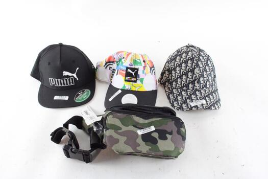 Puma Hats And More, 4 Pieces