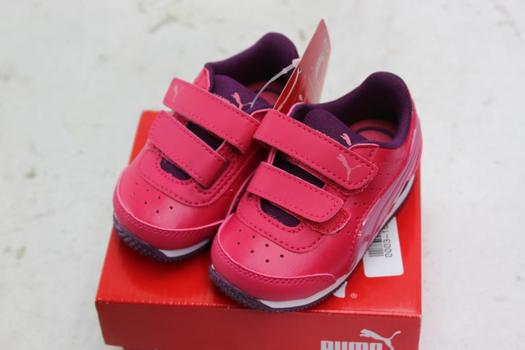 Puma Infant Girl Shoes, Size 4C