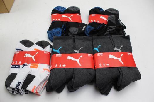 Puma Men's Socks, 5 Pieces
