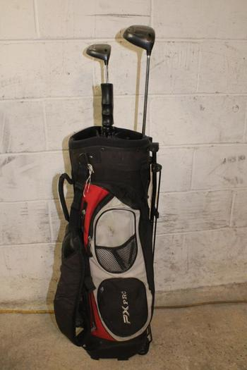 PXPro Bag With Clubs, 3 Pieces