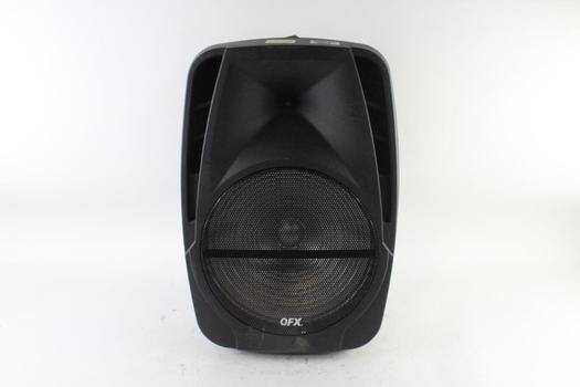 QFX Portable PA Speaker