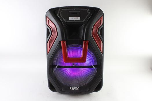 QFX Portable Rechargeable Party Speaker