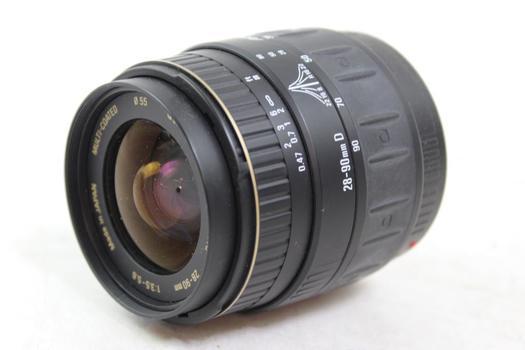 Quantaray Camera Lens
