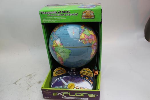 Quantum Leap Explorer Talking Globe