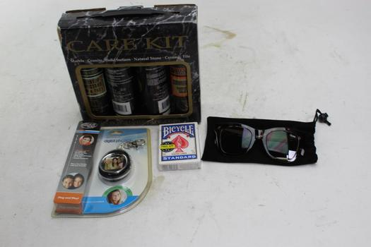 Quay Women's Sunglasses, Stone Care Kit And More, 4 Pieces