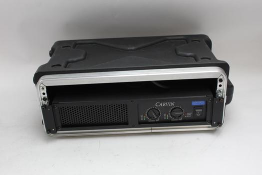 Rackmount Amplifier: Carvin DCM1000L SKB Rackmount Case
