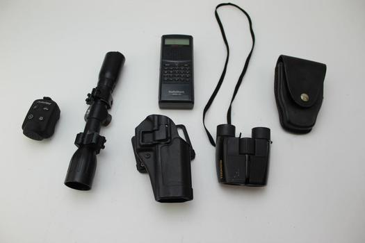 Radioshack Pro-79 Scanner, Gamo Scope, & More; 7 Pieces