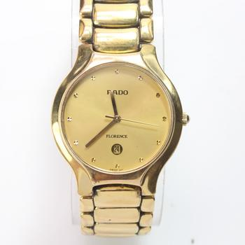 Rado Florence Gold Plated Unisex Watch