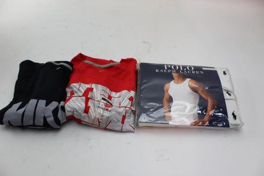 Ralph Lauren, Nike Shirts, Size M/L, 3 Pieces