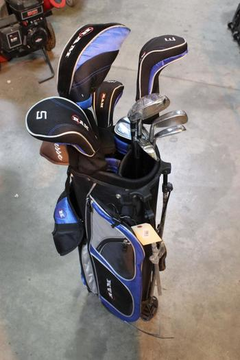 Ram Golf Bag With Clubs, 13 Pieces