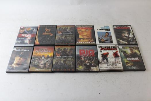 Rambo, The Bourne Identity, The Green Mile, And More, DVD Movies, 5+ Pieces