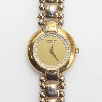 Raymond Weil 18k GP Watch