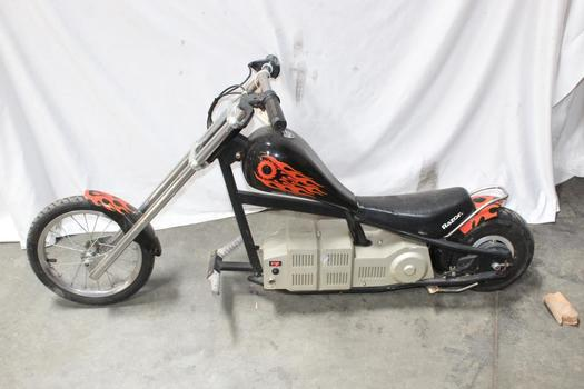 Razor Electric Mini Chopper Motorcycle Property Room