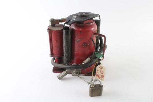 Red Hydraulic Jack