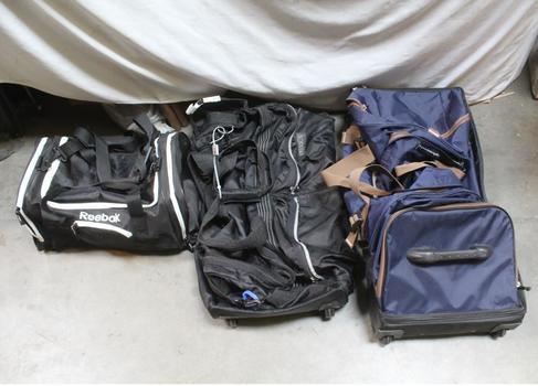 Reebok Duffle And Rolling Duffle Bags: America Perry Ellis, Skyline Luggage: 3 Items