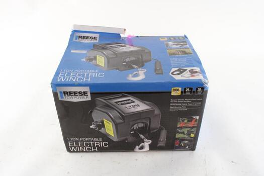 Reese Towpower Electric Winch