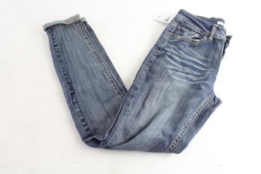 Refuge Skinny Boyfriend Jeans, Size 2