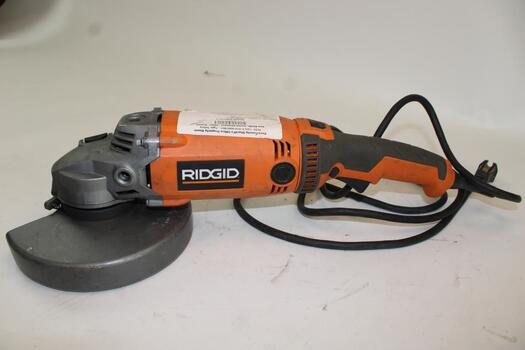 Ridgid  15amp Corded 7 In. Angle Grinder R10202