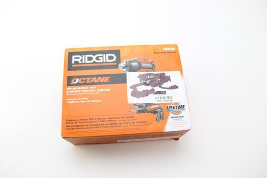 Ridgid 18-Volt Octane Brushless Cordless Impact Driver (Tool Only)