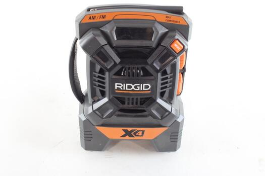 Ridgid AM/FM Portable Job Site Radio