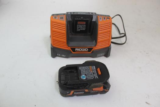 Ridgid Battery W/charger