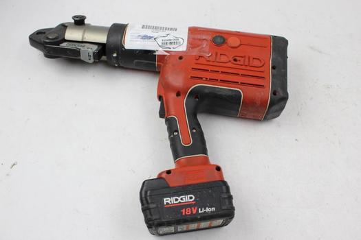 RIDGID RP-330-B Battery Operated Pressing Tool