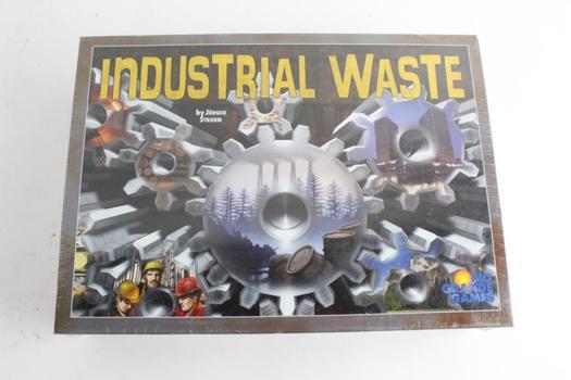 Rio Grande Games Industrial Waste Board Game