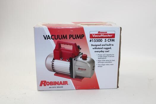 Robinair VacuMaster 5 CFM Vacuum Pump 15500