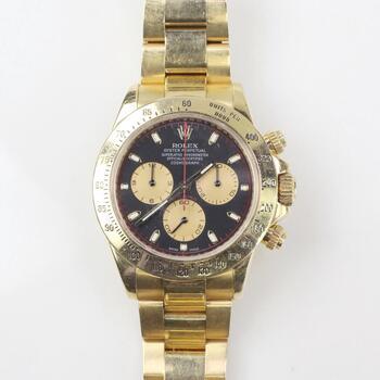 Rolex 18k Gold Daytona Watch