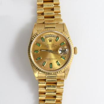 Rolex 18k Gold President Watch - Evaluated By Independent Specialist