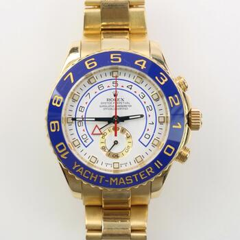Rolex 18k Gold Yacht-Master II Watch