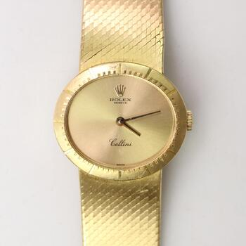 Rolex Cellini 18k Gold Watch - Evaluated By Independent Specialist